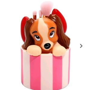Loungefly Lady and the Tramp Makeup Brush Set